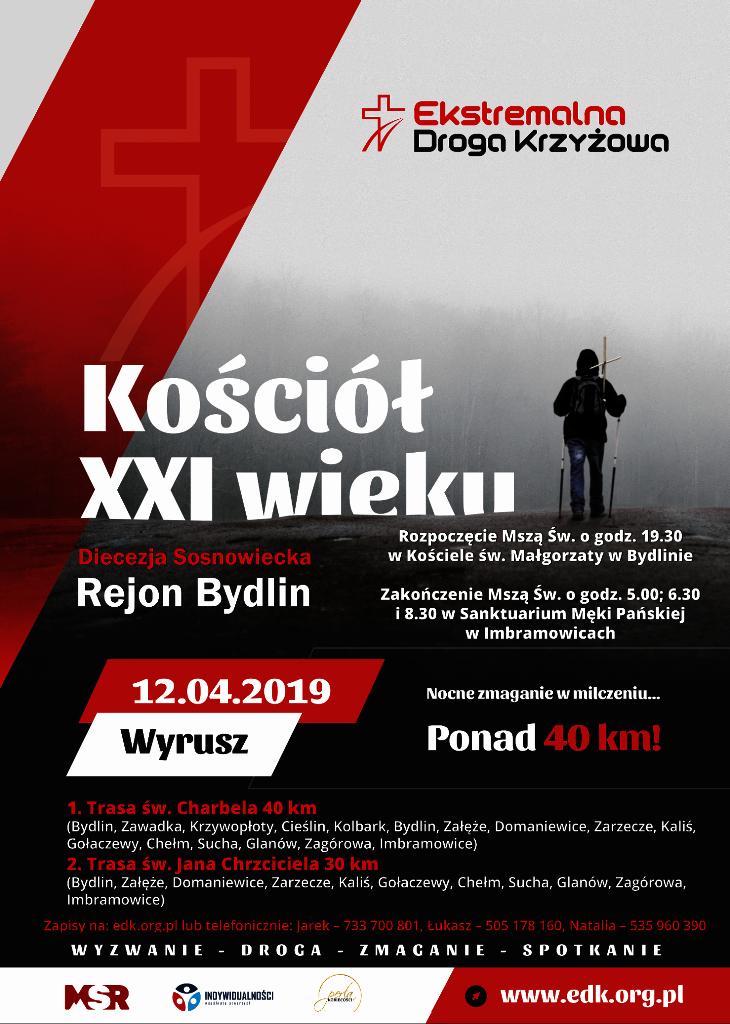 Plakat EDK Bydlin 2019
