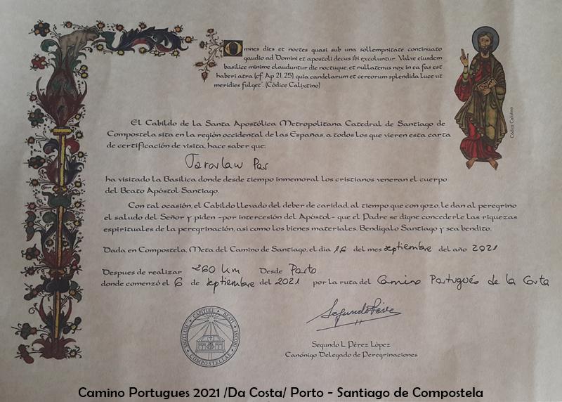 8. Certyfikat kilometrów